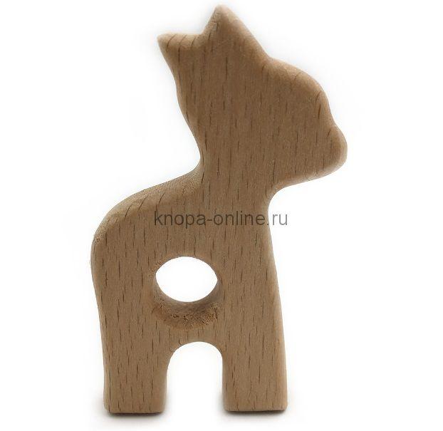 Деревянный грызунок - Олененок