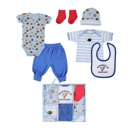 Подарочный набор для новорожденного 6 пр Luvable Friends 07124