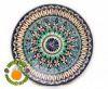 Узбекская керамическая тарелка