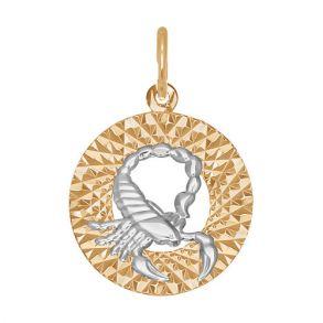 Подвеска «Знак зодиака Скорпион» 031384 SOKOLOV