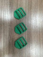 Пряжка-регулятор зеленый