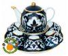 набор чайный сервиз узбекский пахта