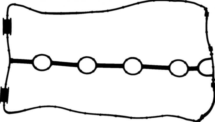 Прокладка клапанной крышки Lacetti 1.4, 1.6 /Nexia DOHC 16V 71-54116-00 VictorReinz