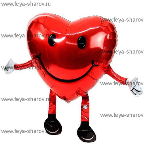 Шар-ходячка Сердце