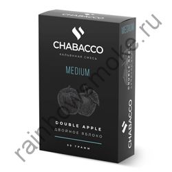 Chabacco Medium 50 гр - Double Apple (Двойное Яблоко)