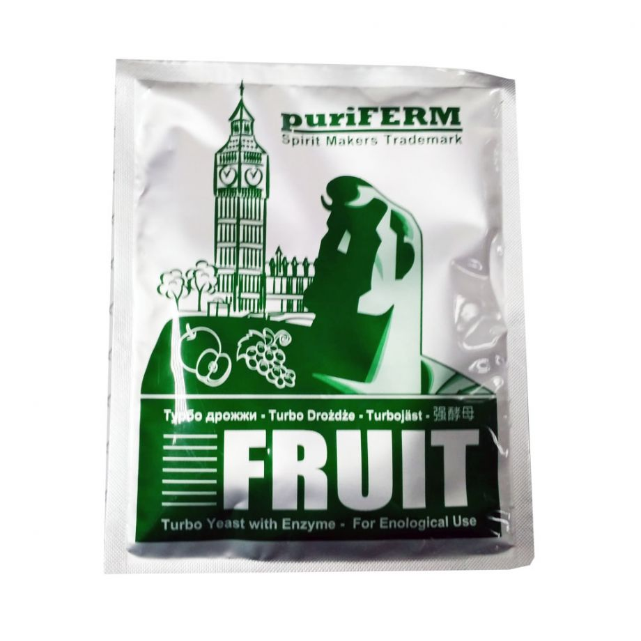 Дрожжи PuriFerm Fruit Turbo 50гр