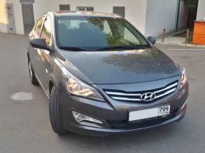 Hyundai Solaris 2016 г. Автомат