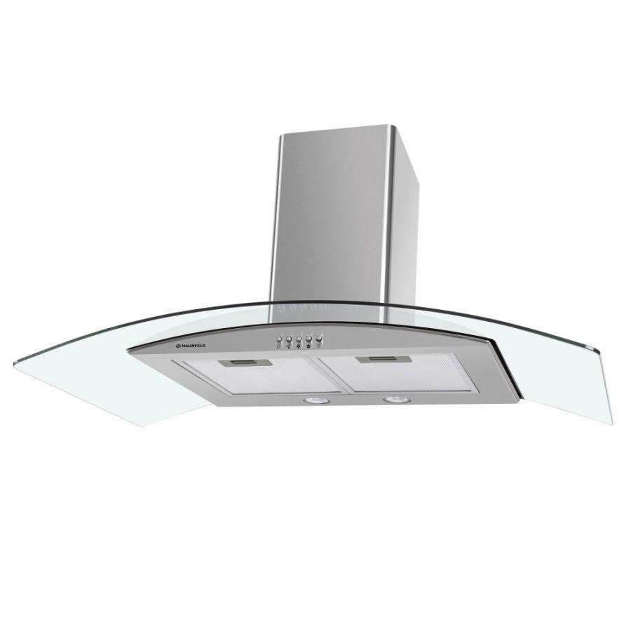 Кухонная вытяжка MAUNFELD Ancona PlusA 90 нержавеющая стальпрозрачное стекло