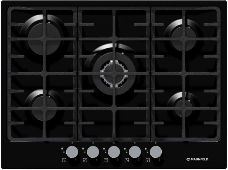 Варочная панель MAUNFELD MGHE.75.78B черный