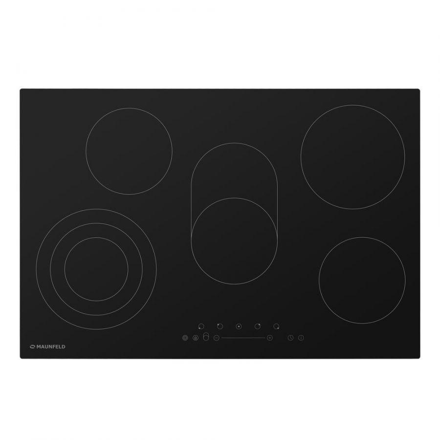 Стеклокерамическая панель MAUNFELD EVCE.775.SM.T-BK черный