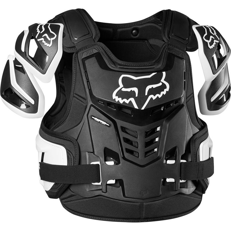Fox Raptor Vest CE Black/White жилет защитный черно-белый
