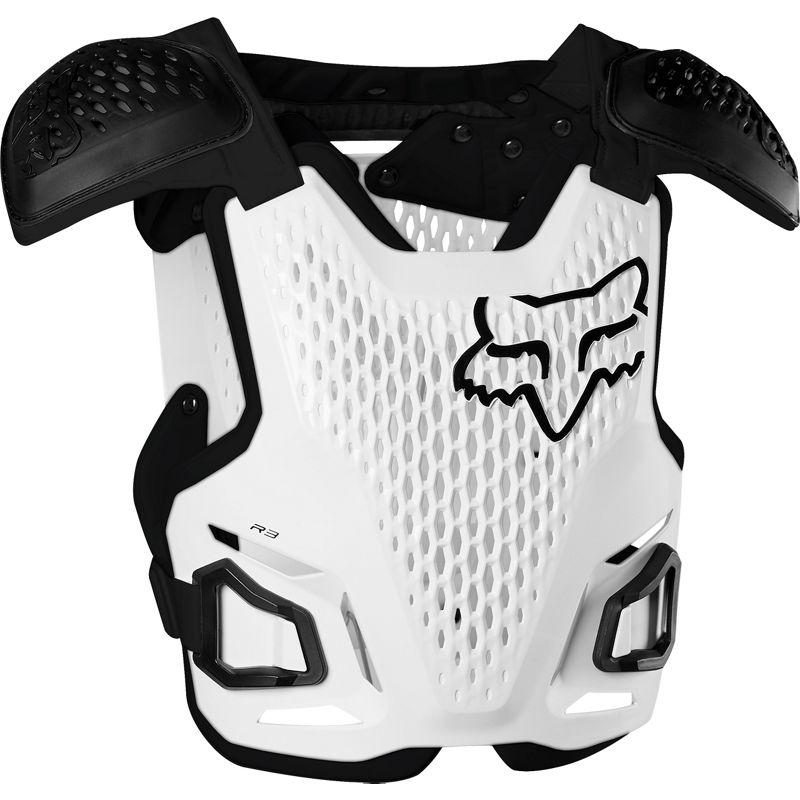 Fox R3 Guard White жилет защитный, белый