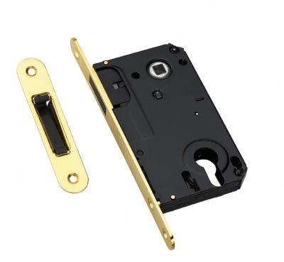 Защелка под цилиндр магнитная Adden Bau Key Mag 5085 Gold, Золото