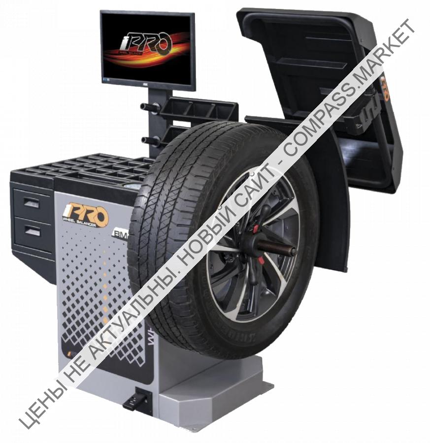 Балансировочный стенд с бесконтактным определением размеров колеса BM4 BM6