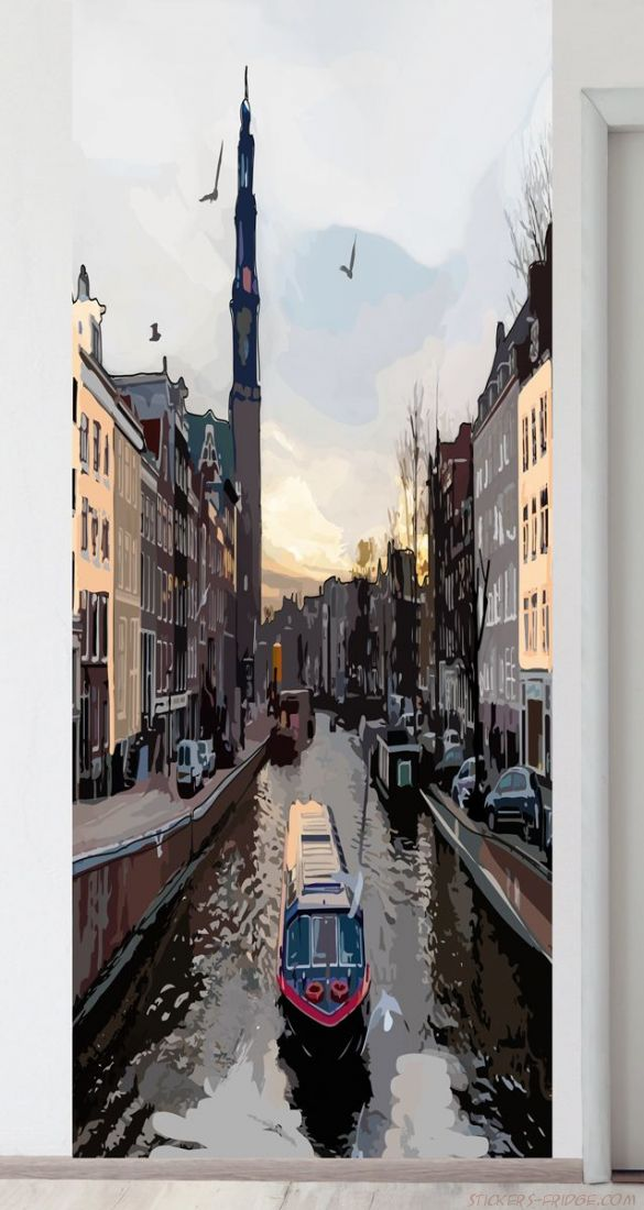 Панно на стену - Прогулки по Амстел