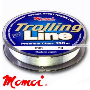 Леска монофильная Momoi Trolling Line 150 м / цвет: прозрачный