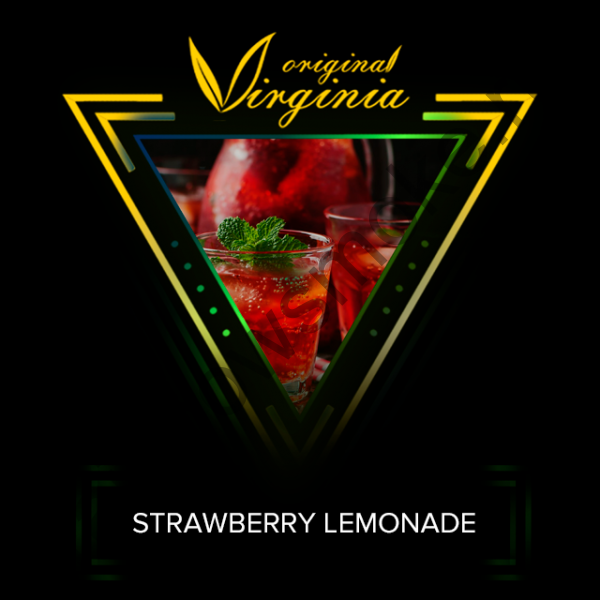 Original Virginia T Line 200 гр - Lemonade With Strawberry (Лимонад С Клубникой)