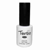Верхнее покрытие для гель-лака Tertio Top coat, 10 мл