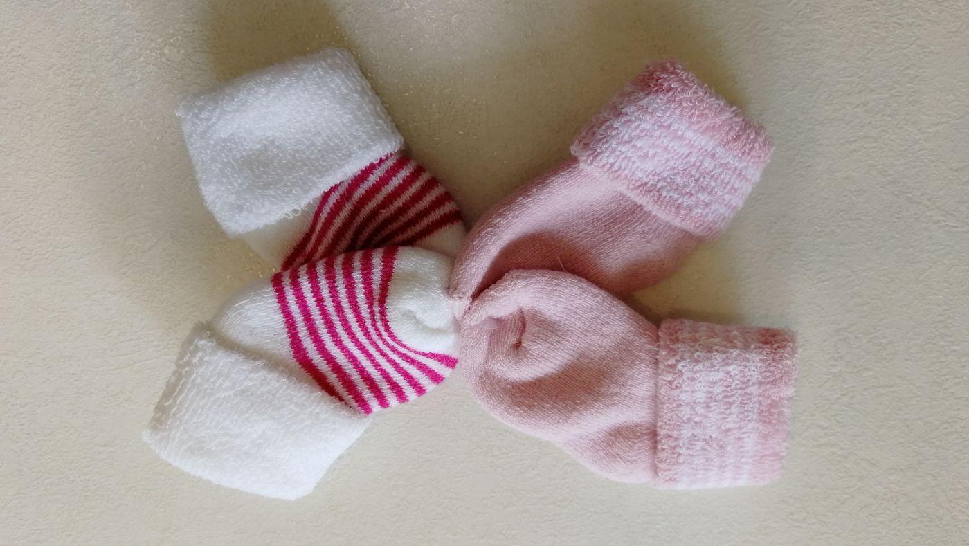 Носочки комплект 2 пары для девочки