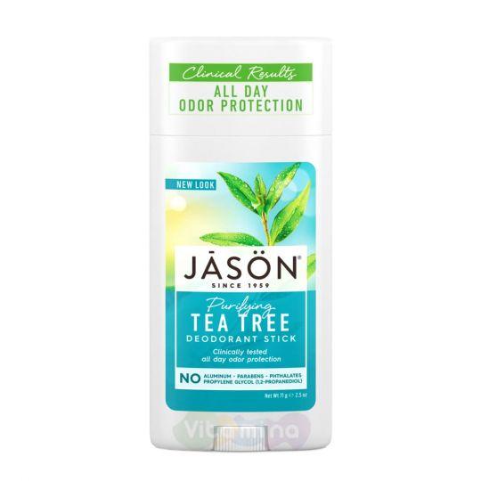 Jason Очищающий дезодорант «Чайное дерево» Tea Tree Oil Stick Deodorant, 71 г