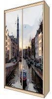 Наклейка на шкаф - Прогулки по Амстел | магазин Интерьерные наклейки