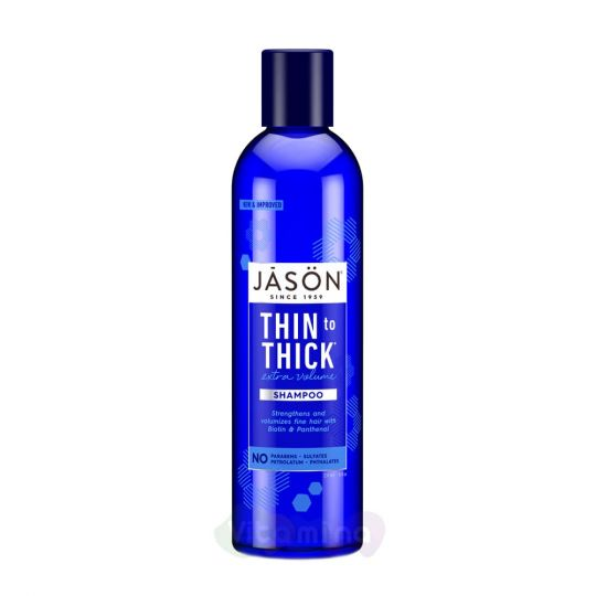 "Jason Восстанавливающий шампунь для волос ""От тонких к толстым"" Thin-to-Thick Extra Volume Shampoo, 237 мл"