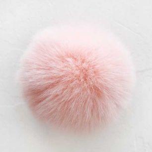 Помпон персиковый, 7 см  (искусственный)