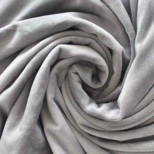 Мелковорсовый мех - Серый 50х40