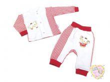 Костюм для девочки с вешалкой: кофта, штаны dV2-KS013-ITpk (код 01833-1) Мамин Малыш OPTMM.RU