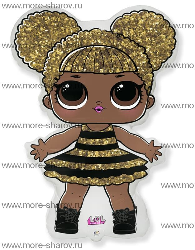 Шар кукла LOL Сияющая Королева 86см