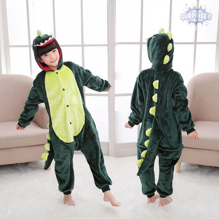 Кигуруми пижама-комбинезон Динозавр