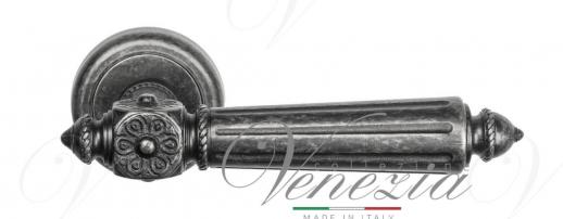Дверная ручка Venezia Castello D1 античное серебро