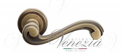 Дверная ручка Venezia VIVALDI D1 матовая бронза