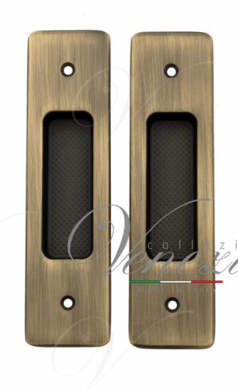 Ручка для раздвижной двери Venezia U177 матовая бронза (2шт.)