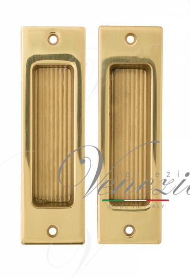 Ручка для раздвижной двери Venezia U166 полированная латунь (2шт.)