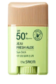 Стик солнцезащитный с экстрактом алоэ Jeju Fresh Aloe Sun Stick_I 16гр