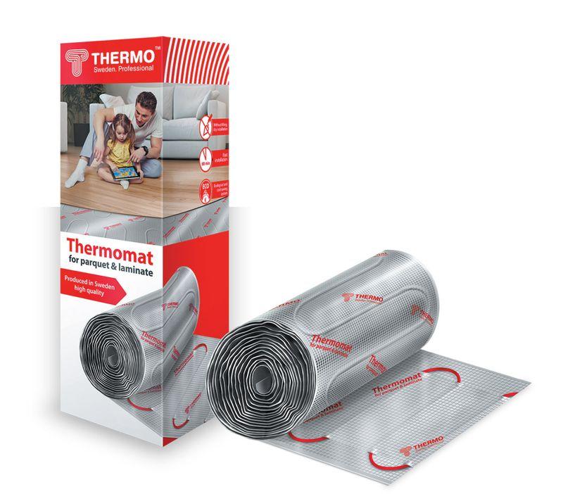 Нагревательный электрический мат под ламинат/паркет Thermomat TVK-130 LP - 4 (площадь обогрева 4 м2)