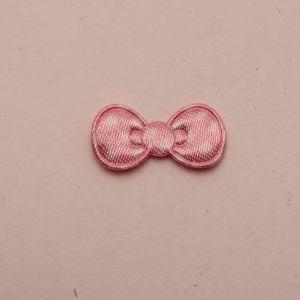 """`Патч """"Бантик"""", 22*11 мм, цвет светло-розовый (1уп = 5шт)"""