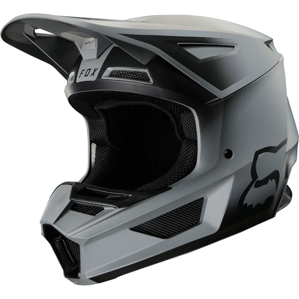 Fox - 2020 V2 Vlar Matte Black шлем, черный матовый