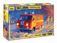 """УАЗ-3909 """"Буханка"""". Пожарная служба."""