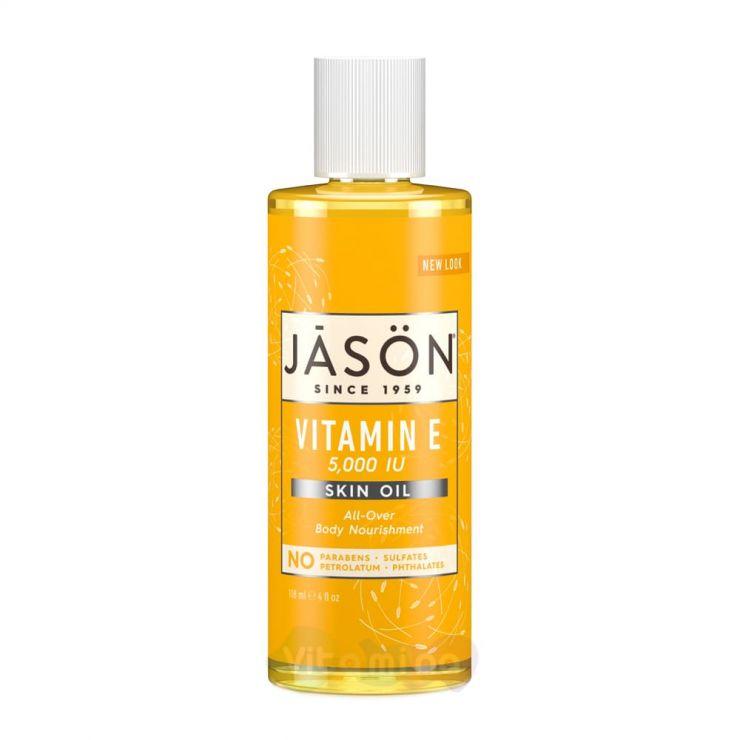 Jason Масло витамин Е Vitamin E Oil 5,000 IU, 118 мл