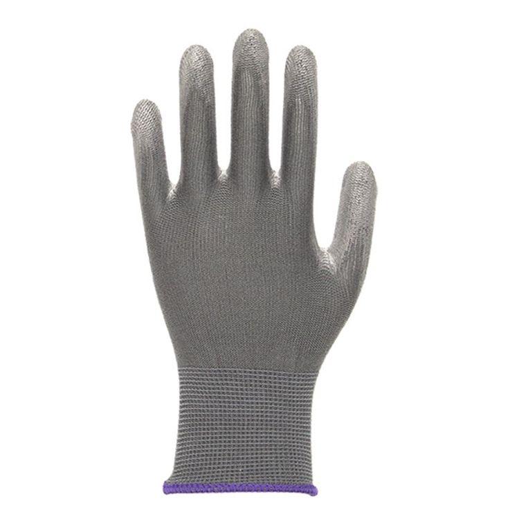 Jeta JS011ng Перчатки защитные трикотажные из синтетической пряжи, цвет: серый, размеры: S, М, в упаковке 12шт.