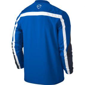Детская толстовка Nike Squad 14 Shell Top Longsleeve Junior синяя