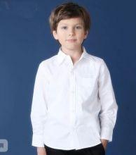 Белая рубашка школьная для мальчика