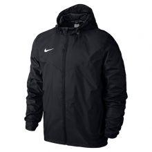 Детская ветровка Nike Team Sideline Rain Jacket Junior чёрная