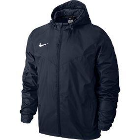Детская ветровка Nike Team Sideline Rain Jacket Junior тёмно-синяя