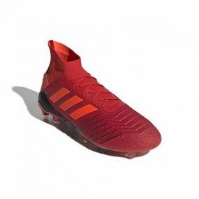Футбольные бутсы adidas Predator 19.1 FG красные