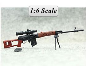 Сувенирная сборная модель винтовки СВД 1:6