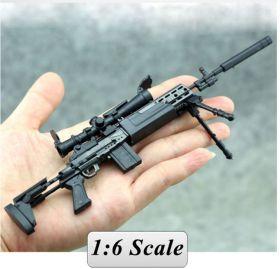 Сувенирная сборная модель винтовки MK14 1:6