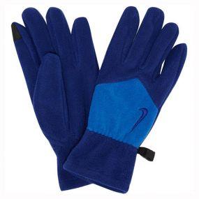 Флисовые перчатки Nike Sport Fleece синие